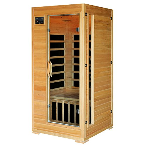 1-2-Person-Hemlock-Infrared-Sauna-w-4-Carbon-Heaters