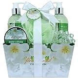 Gloss! Floral Scented Bath Gift Set, Jasmine - 6 Piece