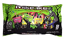 Mike and Ike Variety Bag with 72 Snack Size Packs - Gluten & Fat Free - Halloween Treats