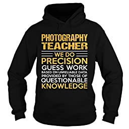 Photography-teacher Photography Shirts (X Large;Black)