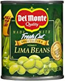 Del Monte Fresh Cut Green Lima Beans, 8.5 oz, 12 pk