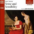 Sense and Sensibility Hörbuch von Jane Austen Gesprochen von: Juliet Stevenson