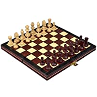Chess Set - Portable, Magentic and Wooden - Handcrafted in Poland