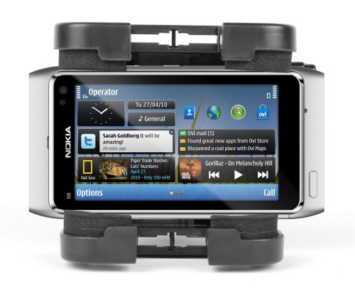 Durable Shock Resistant Phone Holder With Mountain Bike Mount For Nokia Models Including N8, 1616 & 2720 Fold