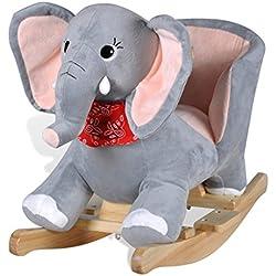vidaXL Schaukeltier Schaukelpferd Schaukel Elefant Schaukelelefant