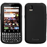 Asmyna MOTMB612CASKSO004 Slim Soft Durable Protective Case for Motorola XPRT MB612 - 1 Pack - Retail Packaging - Black