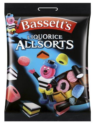 Bassett's Liquorice Allsorts, 2er Pack (2 x 400 g)
