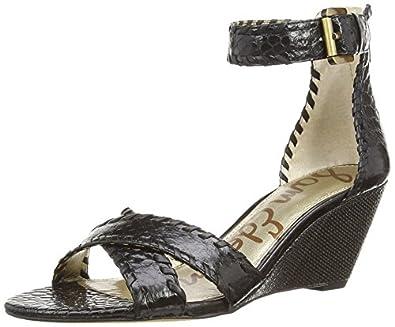 Amazon Com Sam Edelman Women S Silvia Wedge Sandal Shoes
