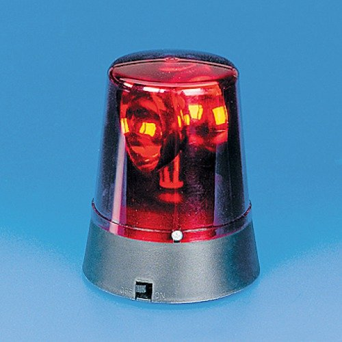 Plastic Red Flashing Mini Beacon Light (1 Pc)