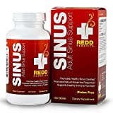 Redd Remedies Adult Sinus Support - Lowers Chance For Sinus Headache - Promotes Healthy Sinuses - Supports Healthy Immune Function - 100 Tablets (FFP)
