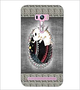 PrintDhaba Cartoon D-4072 Back Case Cover for ASUS ZENFONE SELFIE ZD551KL ULTRA (Multi-Coloured)