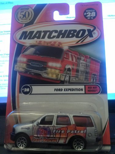 matchbox-ford-expedition-red-hot-heroes-28-75-50th-year-2002-by-mattel