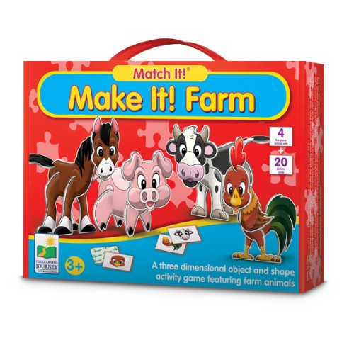 The Learning Journey Match It! Make It! Farm