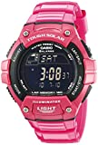 "Casio Women's W-S220C-4BVCF ""Tough Solar"" Digital Watch"
