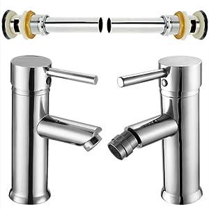Offerta bagno 4 pezzi rubinetto miscelatore tondo nuovo - Miscelatore cucina economico ...
