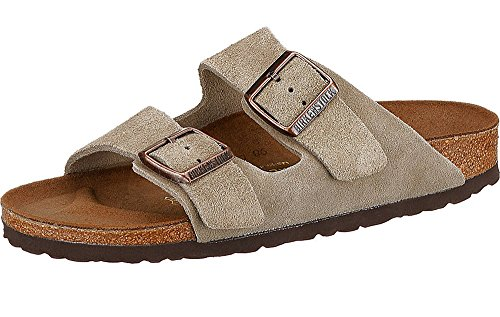 8bb99f397e3b pictures of Birkenstock Arizona 2-Strap Suede Leather Sandals