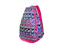 All For Color Tennis Backpack (Sunset Ikat)