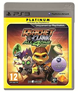 Ratchet & Clank : All 4 one - platinum