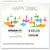 Amazon Gift Card - E-mail - Happy Diwali