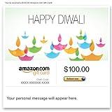 Amazon Gift Card - E-mail - Happy Diwali