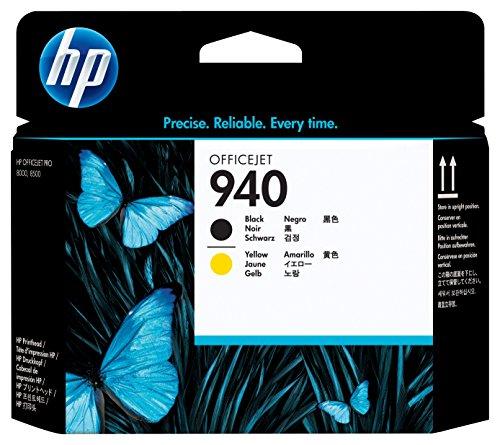 HP 940 Black & Yellow Original Printhead (C4900A) (Print Heads compare prices)
