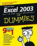 Excel 2003 All-in-One Desk Reference For Dummies (076453758X) by Harvey, Greg