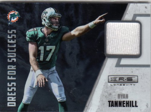 2012 Rookies & Stars Dress For Success #15 Ryan Tannehill Relic