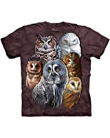 The Mountain Owls Adult T-shirt