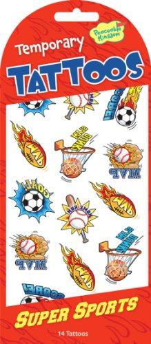 14 Super Sports Tattoo Sticker - Temporary Super Sports Tattoos