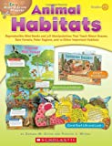img - for Easy Make & Learn Projects: Animal Habitats: Reproducible Mini-Books and 3-D Manipulatives That Teach About Oceans, Rain Forests, Polar Regions, and 12 Other Important Habitats book / textbook / text book