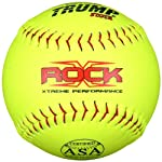 Trump® X-ROCK-ASA-Y-2 The Rock® Series 12 inch 44/375 ASA Composite Leather Softball (Sold in Dozens)