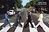 Empire Poster The Beatles Abbey Road with Frame ohne Rahmen