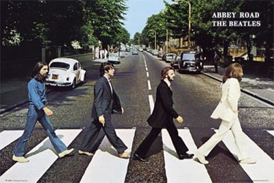 1art1the Beatles - Abbey Road Poster 91x61 Cm 151 By 1art1®