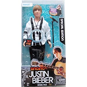 Justin Bieber Singing Doll on Amazon Com  Justin Bieber Special Edition Singing Doll Pray  Toys