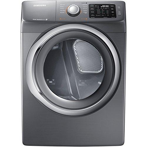 Samsung DV42H5200GP 7 5 Cu  Ft  Front-Load Gas Steam Dryer