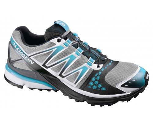 SALOMON XR Crossmax Neutral Ladies Trail Running Shoes, Grey/Blue, UK4