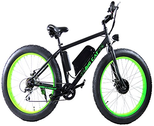 Big Cat Electric Bikes Fat Cat All Terrain Bicycle, 26-Inch/One Size (Motor Assisted Bicycle compare prices)