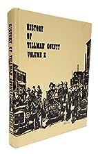 History of Tillman County (Oklahoma) Volume…