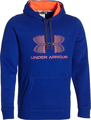 Under Armour, Felpa con cappuccio Uomo, Blu (Cba/Bon/Ady), L