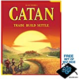 The Settlers of Catan 5th Edition with Free Set of Polyhedral Wiz Dice