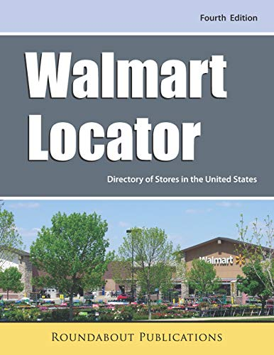 Walmart Locator, Fourth Edition Directory of Stores in the United States [Publications, Roundabout] (Tapa Blanda)