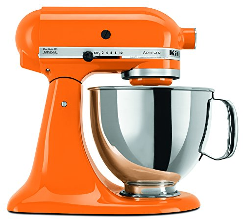 KitchenAid RRK150TG  5 Qt. Artisan Series - Tangerine (Certified Refurbished) (Kitchen Aid Mixer Tangerine compare prices)
