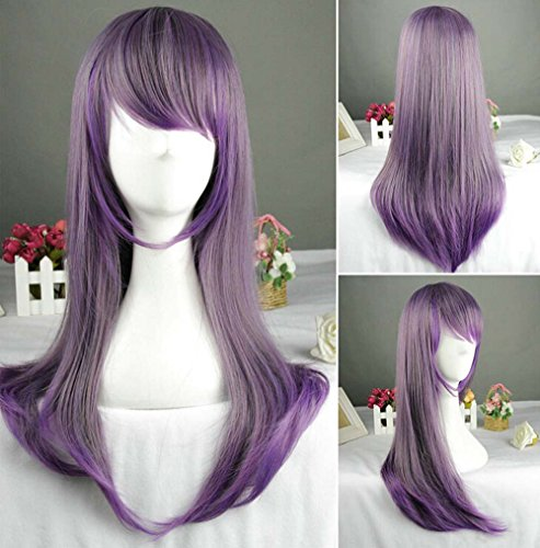 [Jooyi® New Sweet Lolita Wig Heat Resistant Hair Harajuku Cosplay Wig Women Fashion Wigs Purple] (Lavender Marie Antoinette Wig)