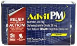 Advil PM,  Coated Caplets, 120-Count
