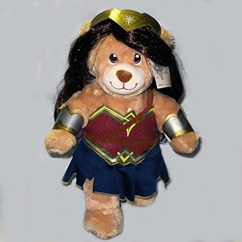 [Build A Bear Wonder Women DC Superhero Plush Teddy Bear 15 inch] (Lil Teddy Bear Costume)