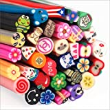 World Pride 100pcs Nail Art Nailart 3d Manicure Design Sticks Canes Rods Stickers Gel Tips