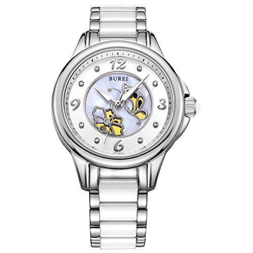burei-montre-femme-a-mouvement-quartz-nacre-et-cristal-saphir-analogique-et-bracelet-blanc-en-cerami