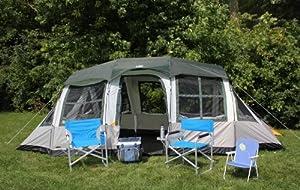 Buy Tahoe Gear Prescott 10 Person Family Cabin Tent by Tahoe Gear