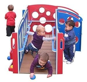 Strictly for Kids SKPG512USA Premier First Steps Infant Developmental FunStation, Patriotic Colors