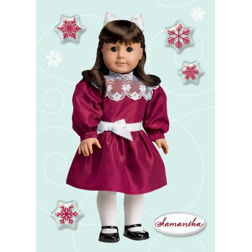 American Girl Crafts Samantha Parkington Holiday Bubble Stickers